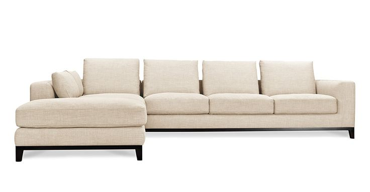 Kellan Sectional Sofa With Left Chaise Oatmeal Linen