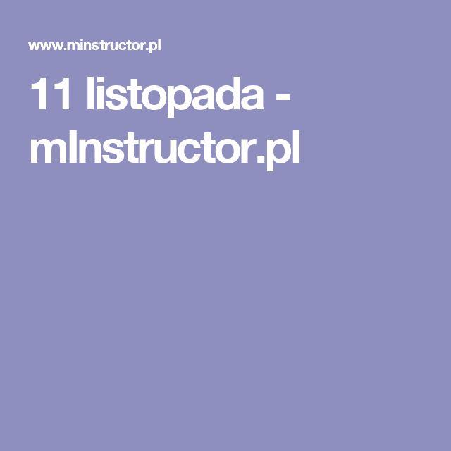 11 listopada - mInstructor.pl