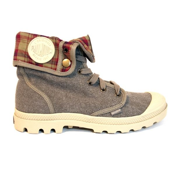 Palladium Baggy - Boue Canvas Rugged Lace-Up Boot 92353-200 BAGGY BOUE