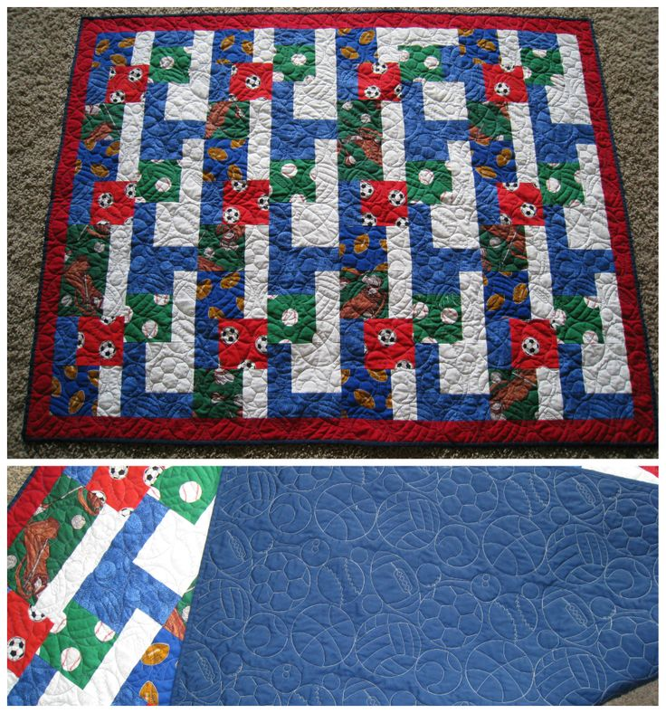 Baby Sports Quilt Patterns 10