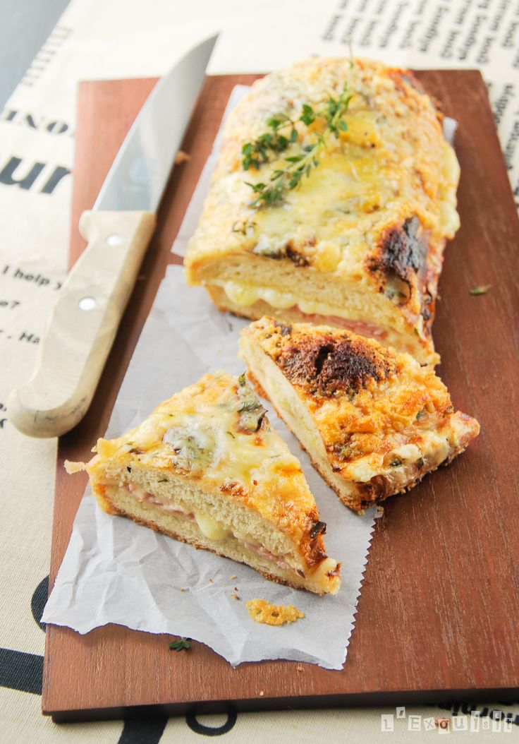Croque Monsieur ༺✿ƬⱤღ  https://www.pinterest.com/teretegui/✿༻
