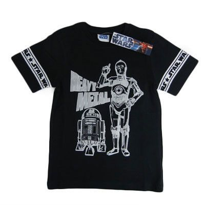 Boy's Star Wars R2D2 and C3PO T-Shirts