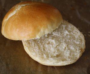 Domácí hamburgerové housky