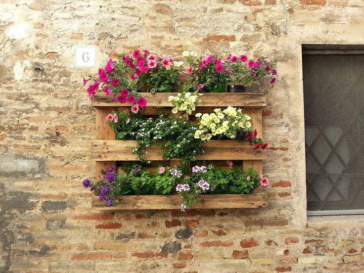 17 migliori idee su fioriere su pinterest vasi da fiori for Idee fioriere giardino