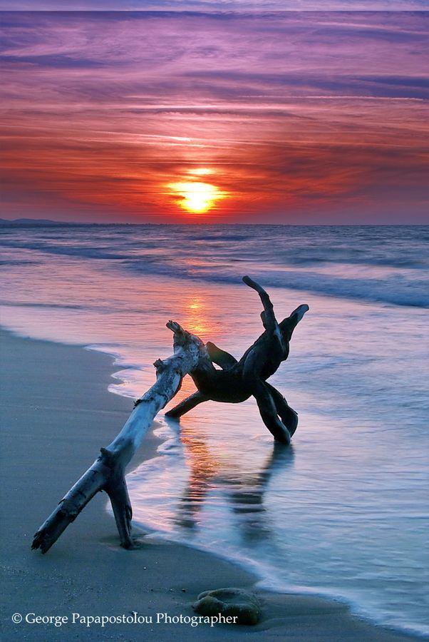 magic sunset*** by George Papapostolou, via 500px