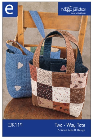 Download Two-Way Tote Sewing Pattern | Featured Downloadable Sewing Patterns | YouCanMakeThis.com
