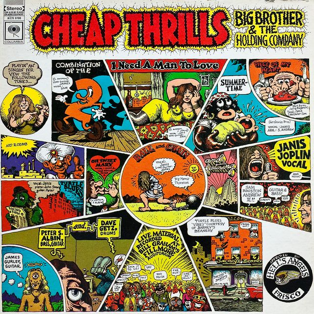 Image result for CHEAP THRILLS-Big Brother and The Holding Company