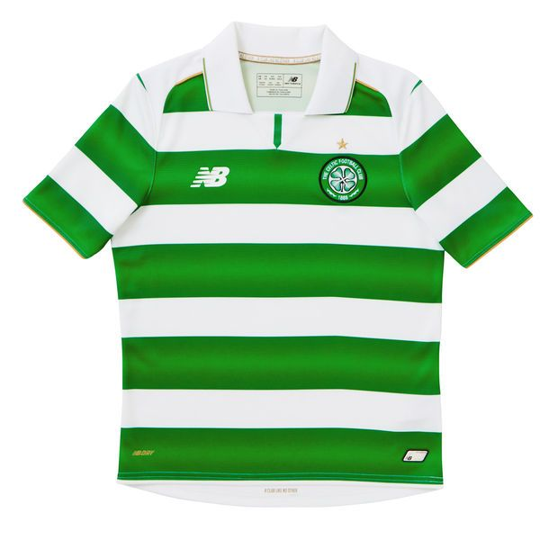 Celtic FC New Balance Youth 2016/17 Home Jersey - White/Green - $64.99