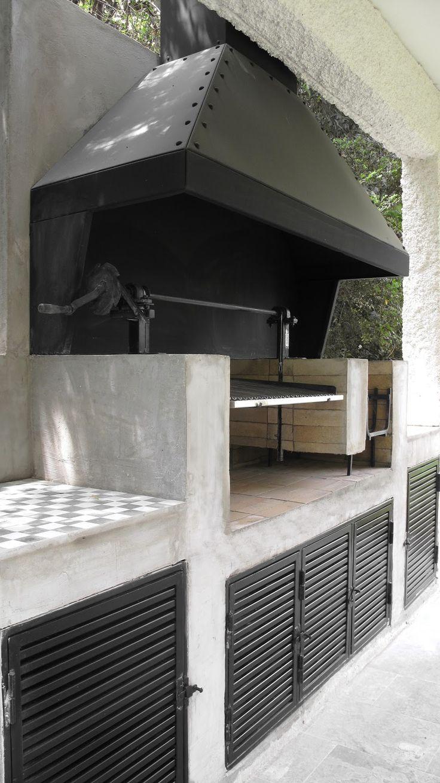 Las 25 mejores ideas sobre campana del horno en pinterest - Paelleros de obra modernos ...
