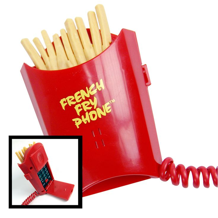 French Fry Phone.