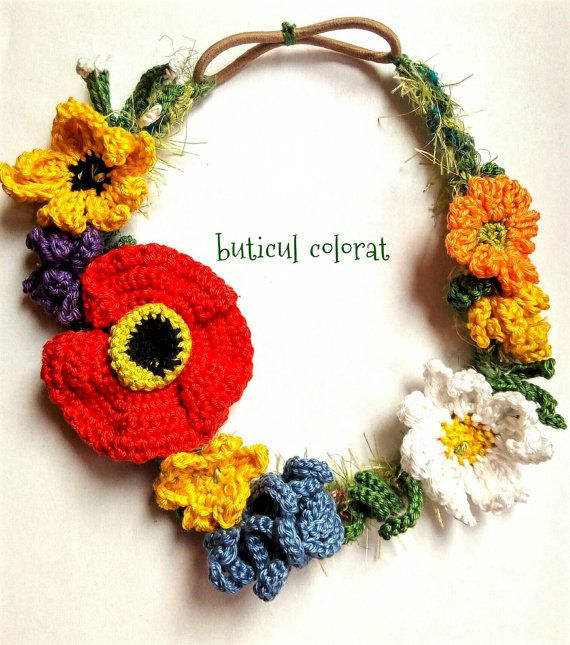 Check out this item in my Etsy shop https://www.etsy.com/listing/451772438/wild-flower-crowns-flower-headband-boho