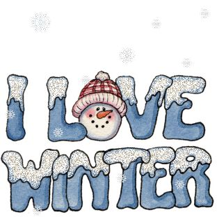 *I LOVE WINTER ~ snow much!!