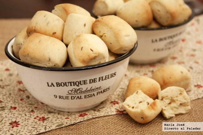 bocaditos de pan con comino (thermomix) ... y con sésamo ya ni te cuento...