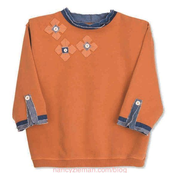Best+Sweatshirt+Makeovers,+Nancy+Zieman,+Mary+Mulari,+Sewing+With+Nancy