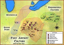 Fort Ancient is a collection of Native American earthworks located in Washington…