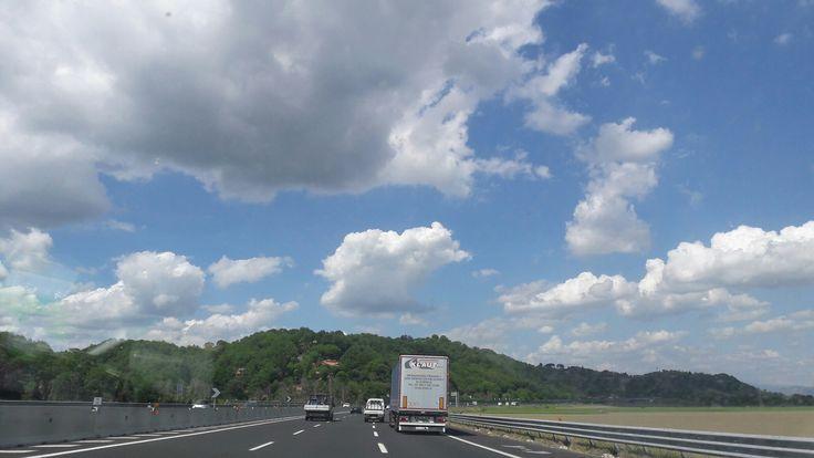 Nuvole di questo pomeriggio @!