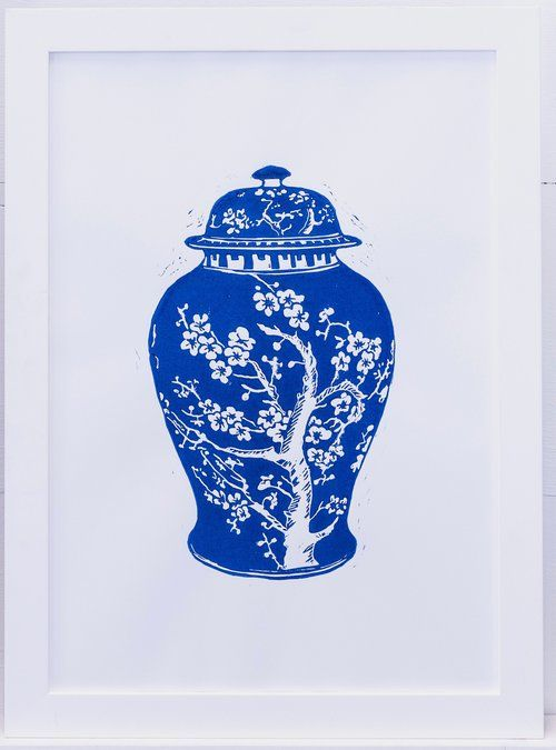 Limited edition Lino print created by Tracey Fletcher king for The Arthouse Collective
