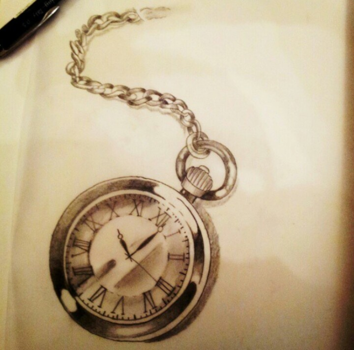 Top Stopwatch Drawing Tattoos Tattoos In Lists For Pinterest