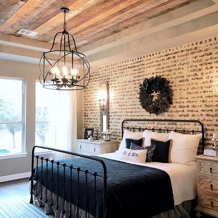 White bedroom with sea view · 3 match. I love this room!! I love the accent wall, wood trayed