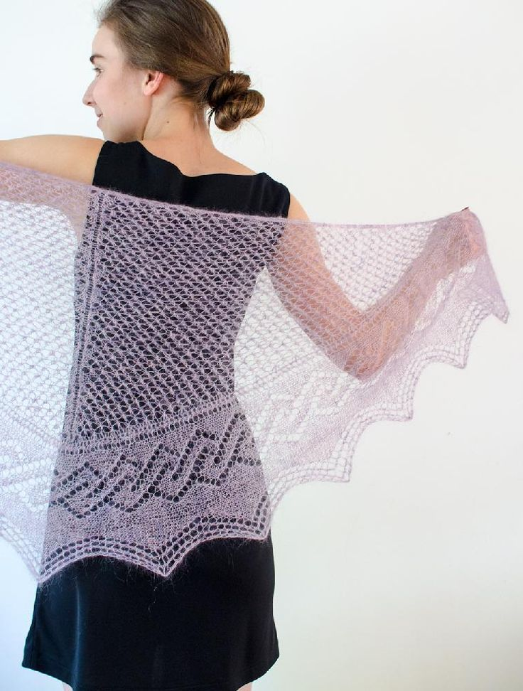 94 best shawl knitting patterns images on pinterest tracery fandeluxe Choice Image