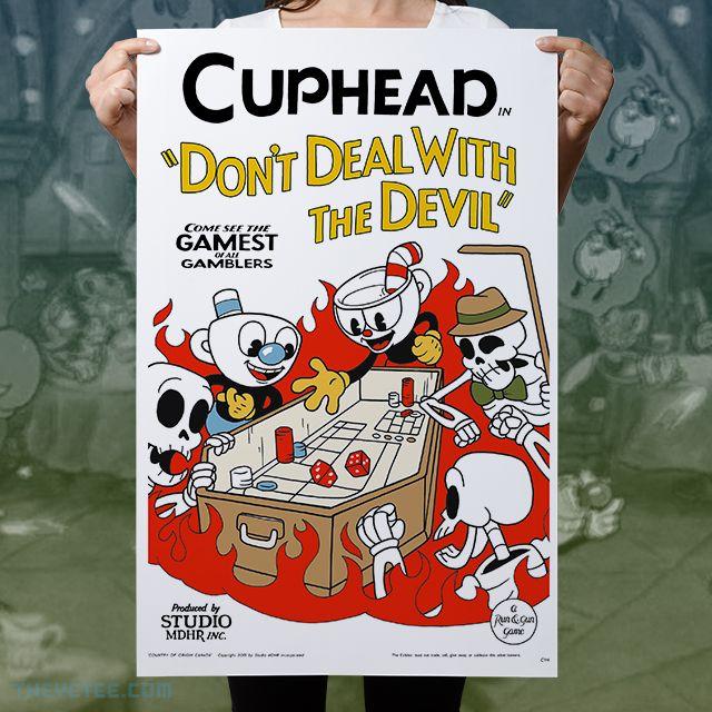 Studio MDHR предлагает товары для фанатов Cuphead - GameMAG