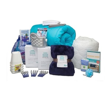 The 44-Piece College Dorm Essentials Set - Totally Complete - Includes Essentials For College