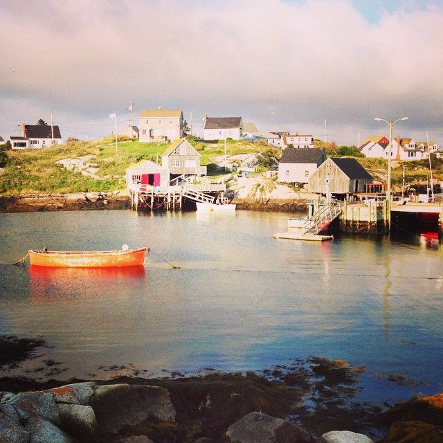 Peggy's Cove today. Great day. #novascotiaisbeautiful