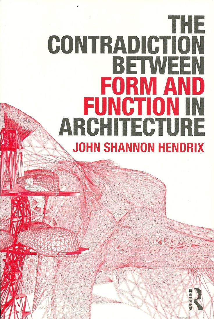 100 best books images on pinterest books book and lab the contradiction between form and function in architecture fandeluxe Gallery