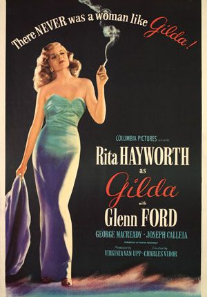 Gilda   1946  another great movie,,,,,old movies are the best at least they had a good story line and it wasnt all filth