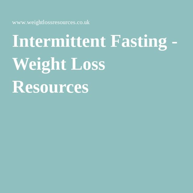 Most effective fasting for weight loss picture 1