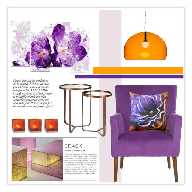 Untitled 625 by lulubelle1972 liked on polyvore for Decoration kartell