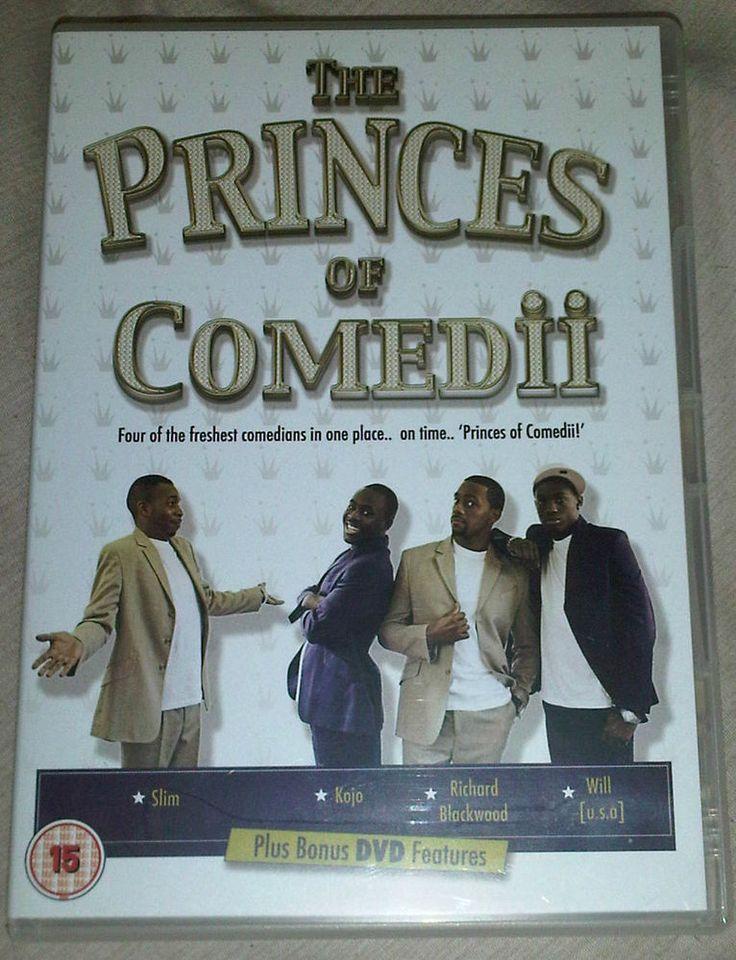 Princes Of Comedii (DVD, 2005, Comedy) Kojo, Will, Richard Blackwood, Slim #rozasebay #ebayuk #comicrelief #charity
