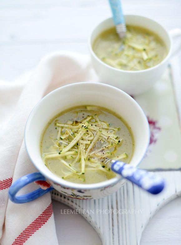 Zucchini, Zucchini Courgette Soup, Zucchini Soup, Scd Zucchini, Easy ...