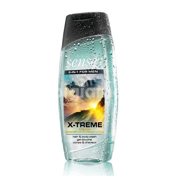 Senses For Men X Treme Hair And Body Wash Body Wash Mens Body Wash Avon