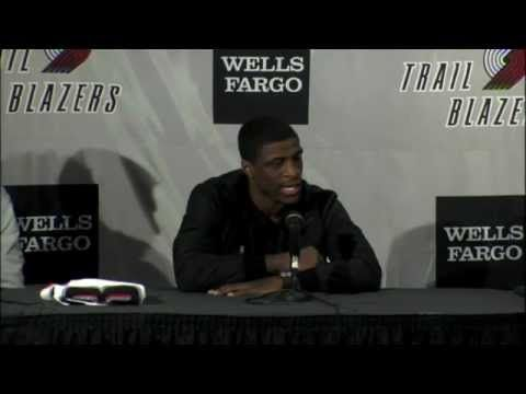 Jonny Flynn & Hasheem Thabeet Introductory Press Conference
