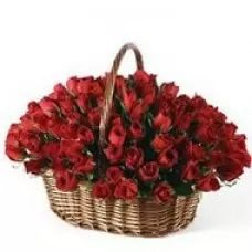 red valentine baskets