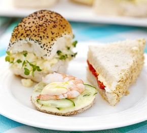 BBC Good food recipes for afternoon teas: http://www.bbcgoodfood.com/recipes/collection/afternoon-tea