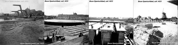 Het Openluchtbad  in de wijk de Wipstrik . Het bad werd ontworpen door de architect J.G. Wiebenga en werd op 9 juni 1933 officieel geopend.