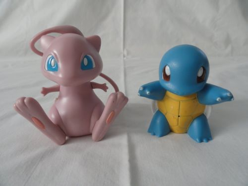 1997 Pokemon Tomy Talking Mew and Squirtle | eBay