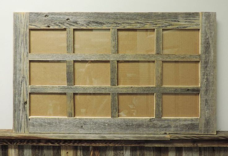 rustic picture frames collages. Brilliant Rustic New Rustic Farmhouse Barnwood Reclaimed Multi 12 Picture 4x6 Frame Collage  Decor Inside Rustic Picture Frames Collages