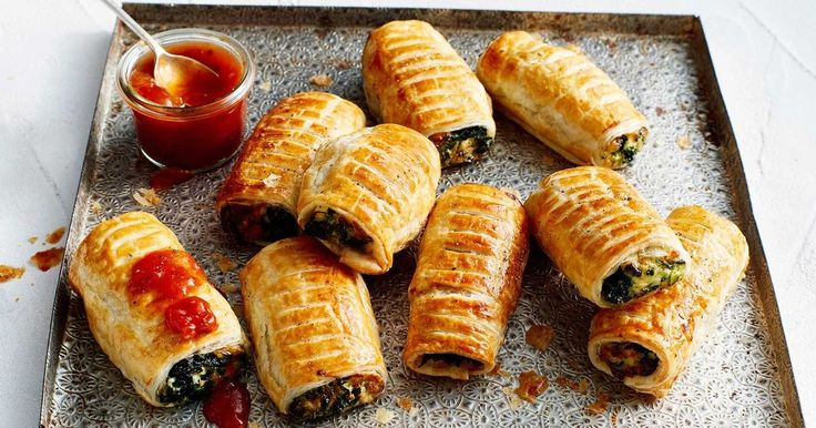 Vegetarian sausage rolls that will even have meat lovers reaching for seconds.