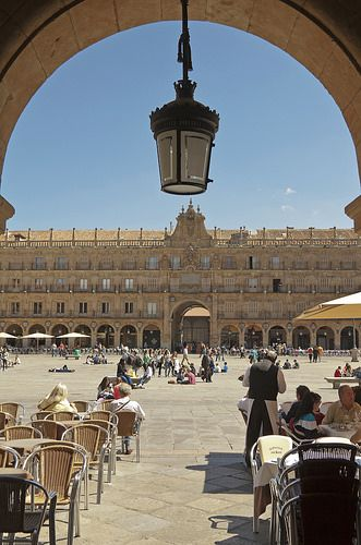 Plaza Mayor ,  Salamanca  Spain