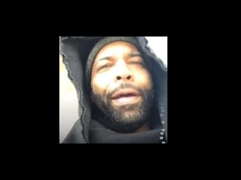 "Joe Budden Tells Fan ""F*ck Complex and Everyday Struggle"" at the Hudson Mall with Safaree Wearing Skunk Fur Mink"