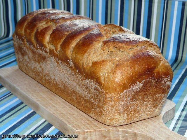 Chleb pszenno-żytni z maślanką