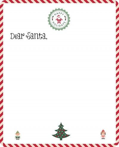 The 25+ best Free santa letter template ideas on Pinterest Free - christmas letter format