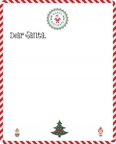 25+ unique Free santa letter template ideas on Pinterest Santa - christmas letterhead templates word