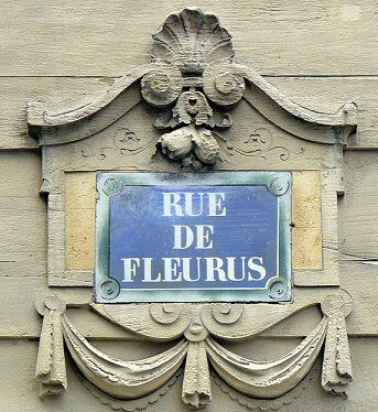 Rue de Fleurus, Paris, the street Gertrude Stein made famous - although born in USA Paris was her home.