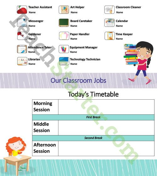 Classroom Morning Routine PowerPoint