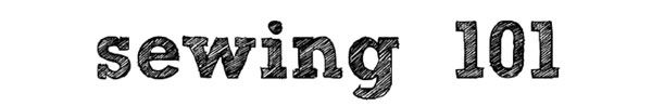 sewing 101: great tips! @Luigina Foggetti e @Aurora Ghini