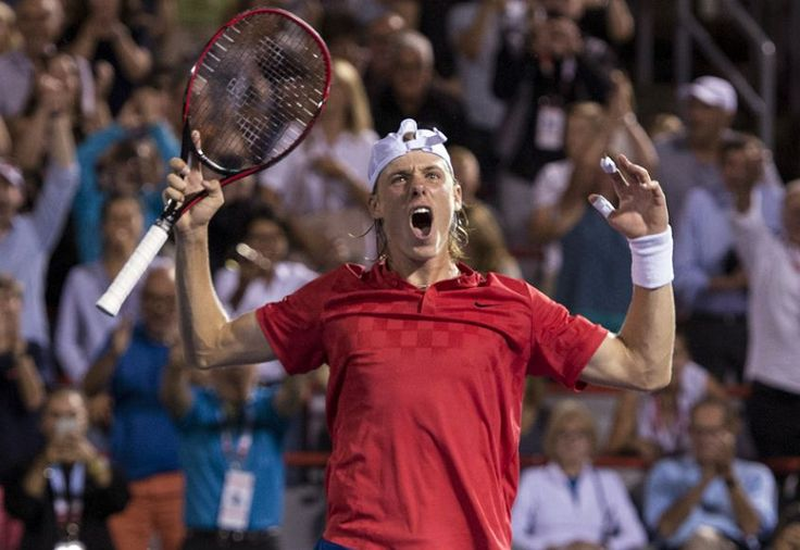 Canadian tennis // Rogers Cup 2017 (Day 5) // Picture : Denis Shapovalov (Copyright Paul Chiasson/The Canadian Press)